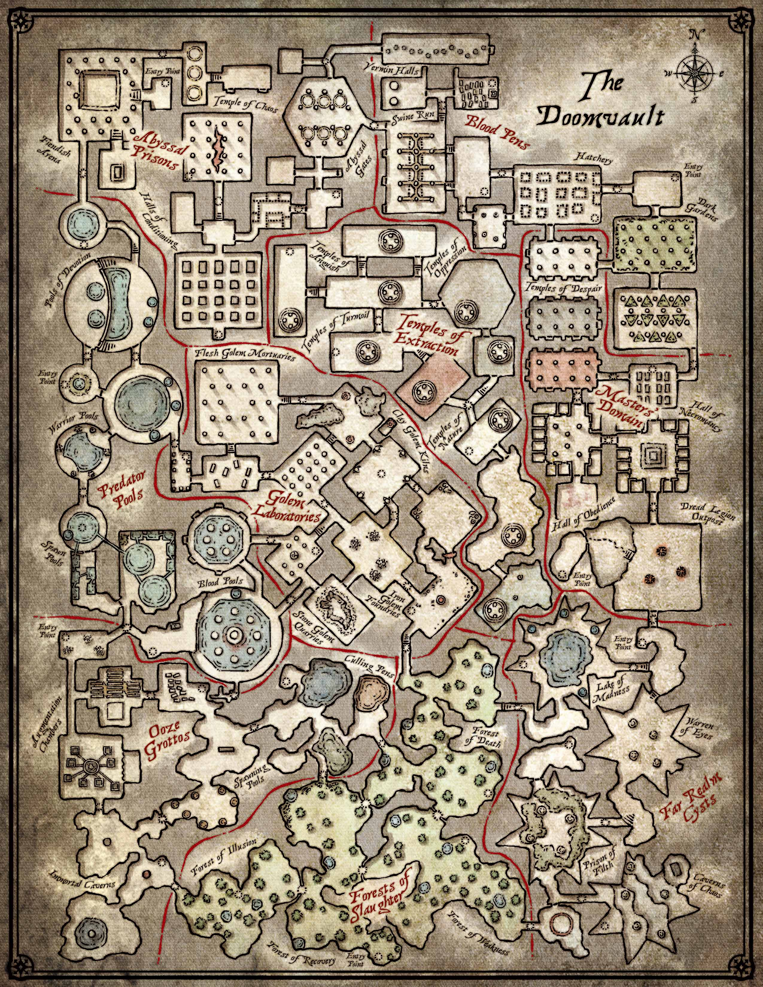 image relating to Cragmaw Hideout Printable Map identified as Misplaced Mines Of Phandelver Maps