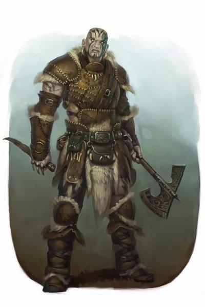 Pathfinder Hobgoblin Monk Goliath » Dungeon...