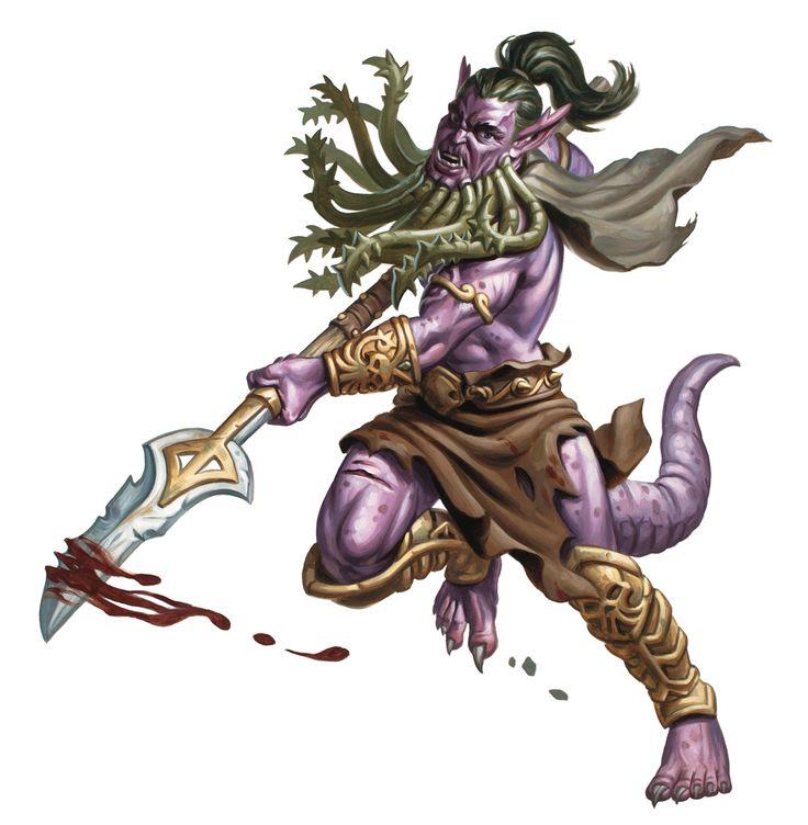 Bearded Devil 5e » Dungeons & Dragons - D&D 5