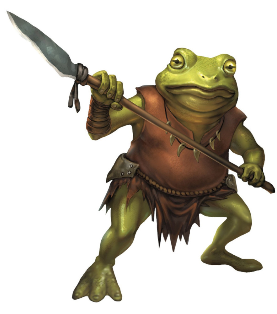 Bullywug 5e Dungeons Dragons D D 5