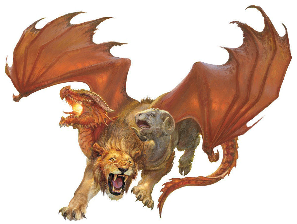 Chimera » Dungeons & Dragons - D&D 5
