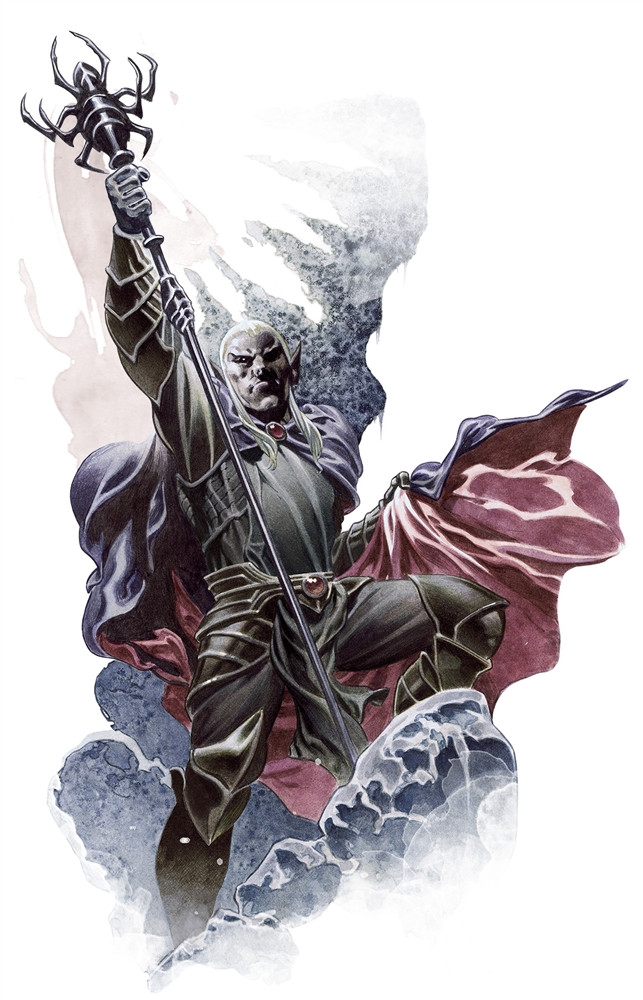 Drow Mage 5e » Dungeons & Dragons - D&D 5