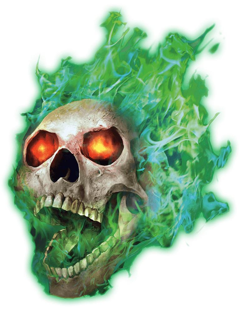 Monstruos de Rango C Flameskull