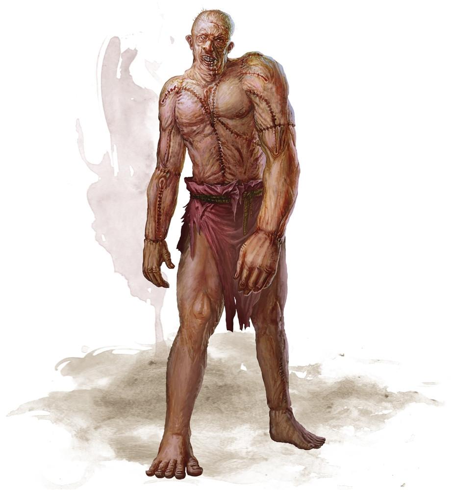 Flesh Golem 5e » Dungeons & Dragons - D&D 5