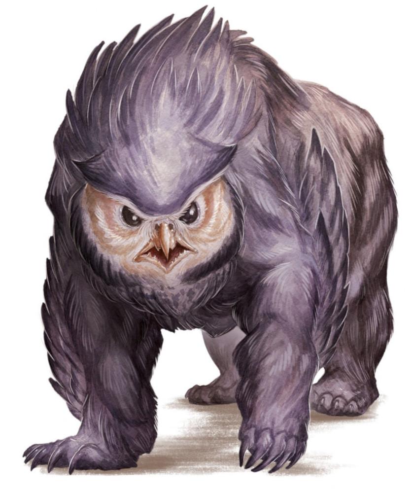 Owlbear 5e » Dungeons & Dragons - D&D 5