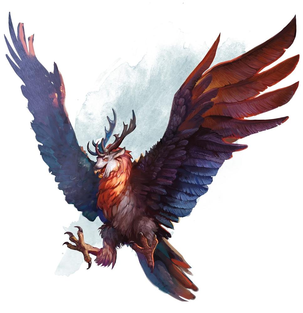 peryton 5e  u00bb dungeons   dragons d d 5 DD Monster Manual Rat DD Monster Manual