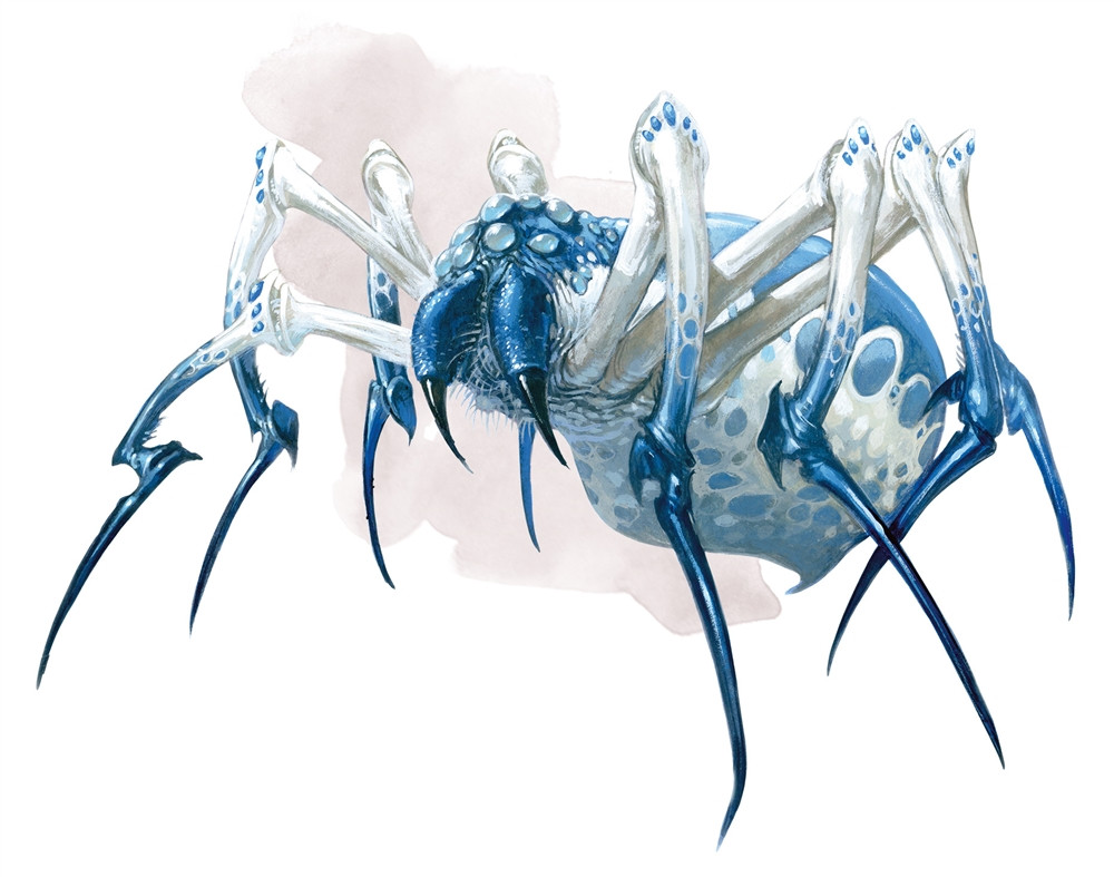 Phase Spider 5e » Dungeons & Dragons - D&D 5