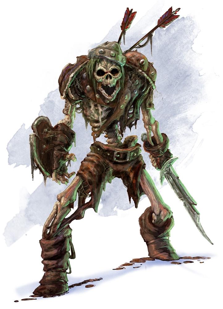 Monstruos de Rango D Skeleton
