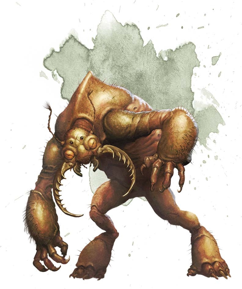 Umber Hulk 5e » Dungeons & Dragons - D&D 5