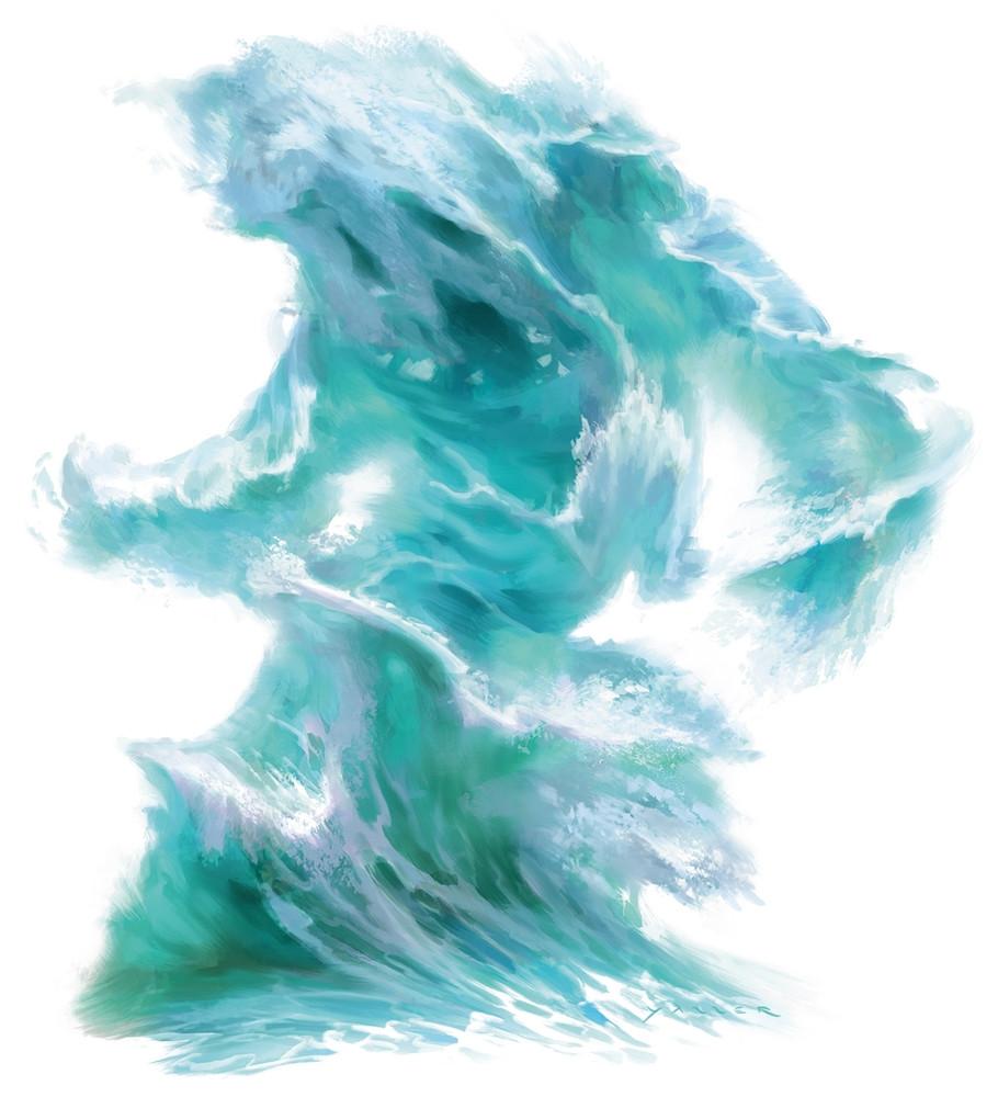 Water Elemental 5e » Dungeons & Dragons - D&D 5