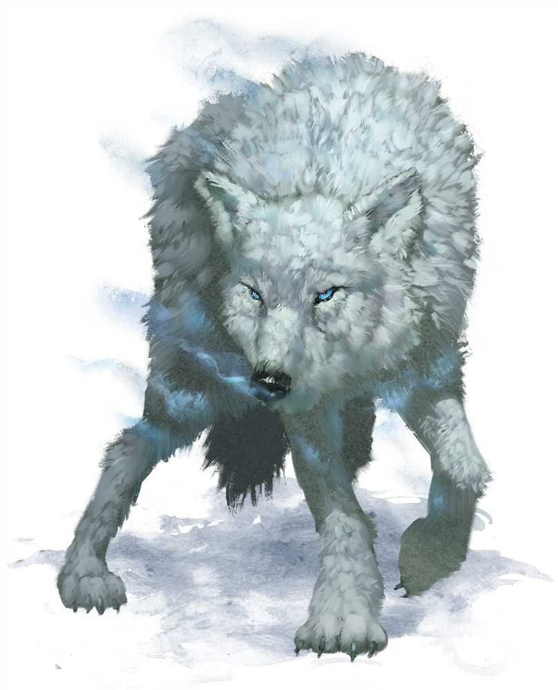 Winter Wolf 5e » Dungeons & Dragons - D&D 5